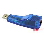 ADAPTADOR USB X RJ45 - ATÉ 45 MTS