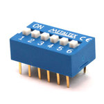 CHAVE DIP SWITCH 06-H