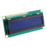 DISPLAY LCD 16X 02 AZUL C/ BACK LCM1602B